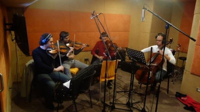 Nahla Mater Recording Session